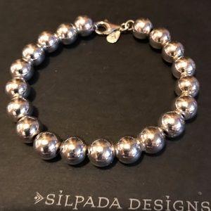 Silpada Sterling Silver Bead Bracelet